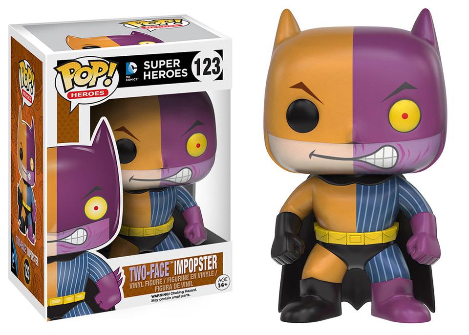 Funko Pop! Batman & Batgirl Impopsters