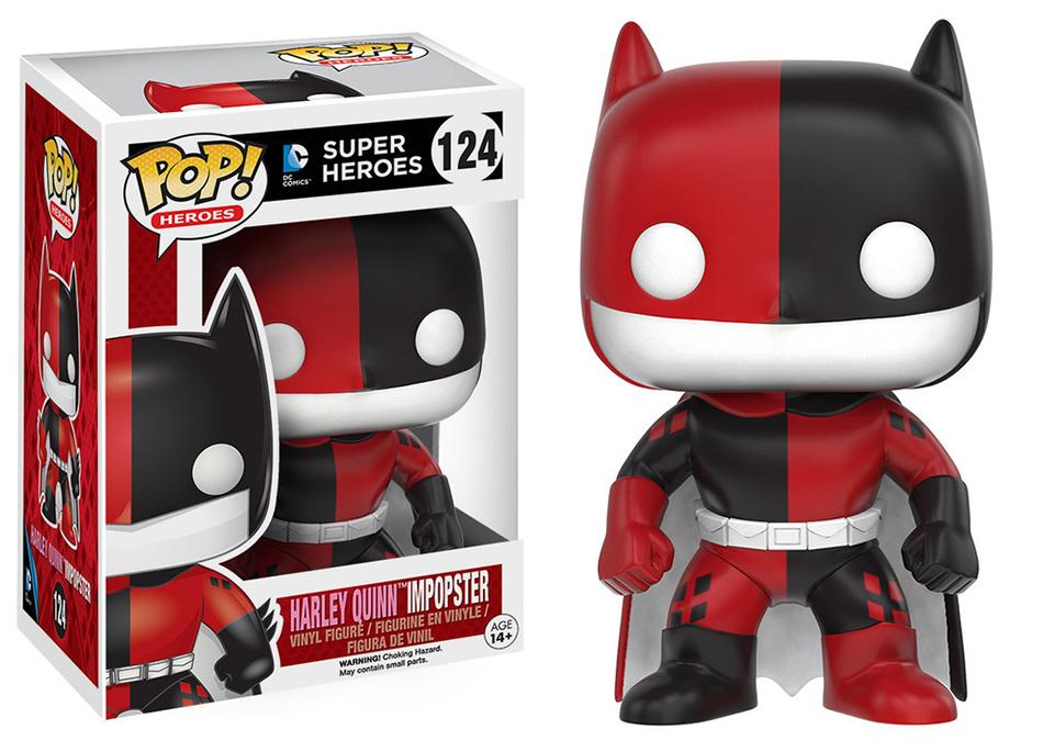 Funko Pop Batman Amp Batgirl Impopsters Mightymega
