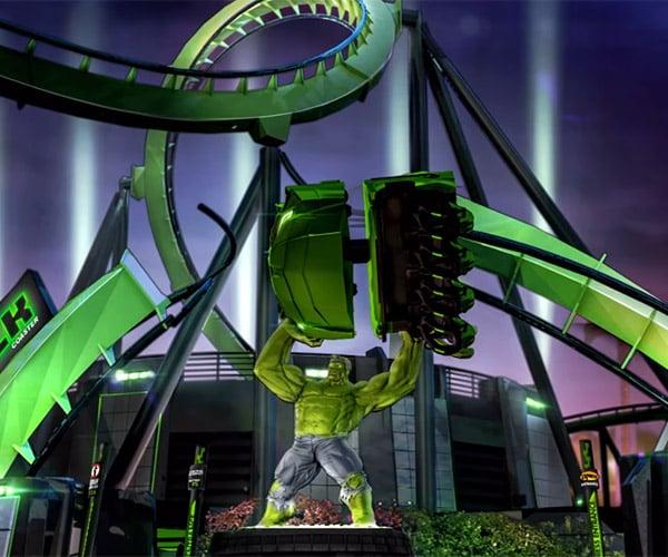 Universal Orlando Resort Relaunching The Incredible Hulk Coaster