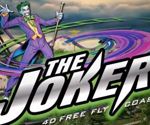 Six Flags Joker Rollercoaster: The Puking Joke