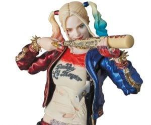 Medicom MAFEX Suicide Squad Harley Quinn & Joker Figures