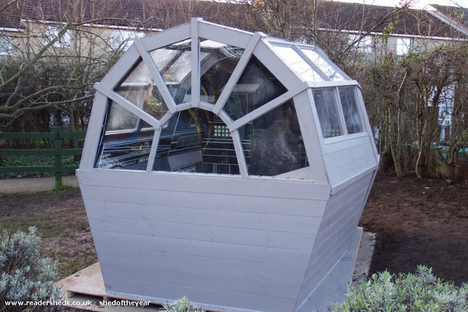 This Millennium Falcon Shed May Not Look Like Much