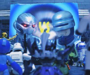 Robo Deathmatch Action Figure Stop-Motion Films
