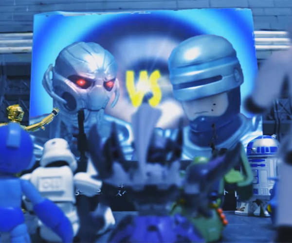 Robo Deathmatch Action Figure Stop-Motion Films