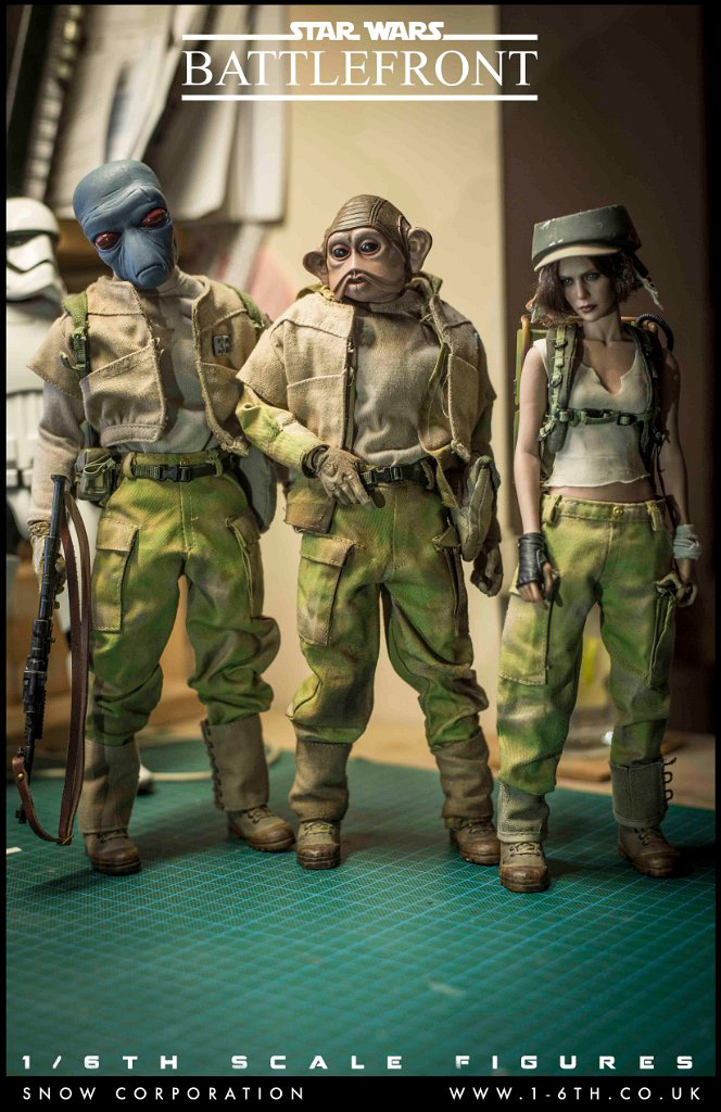 Snow Corporation Custom Star Wars Battlefront 1/6 Scale Action Figures