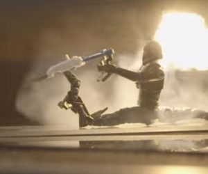 First Order Stormtroopers vs Lasers