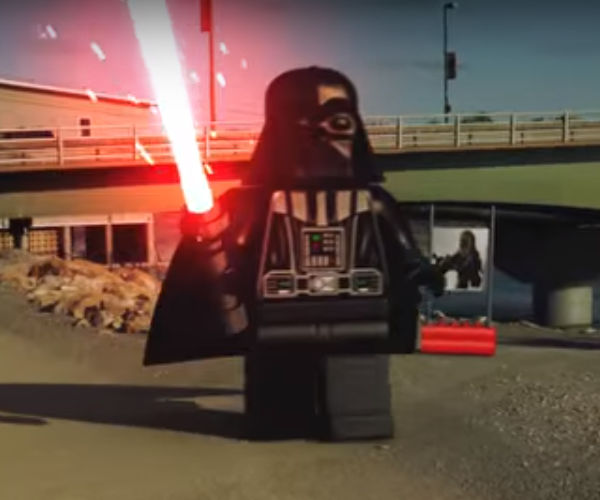 A Real Life LEGO Star Wars Battle