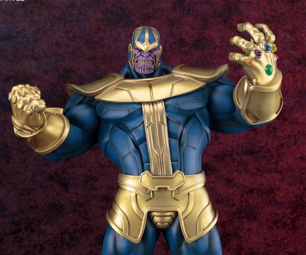 Kotobukiya Thanos Fine Art Statue