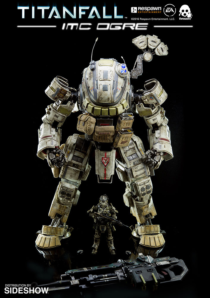 Threezero Titanfall IMC Ogre Action Figure