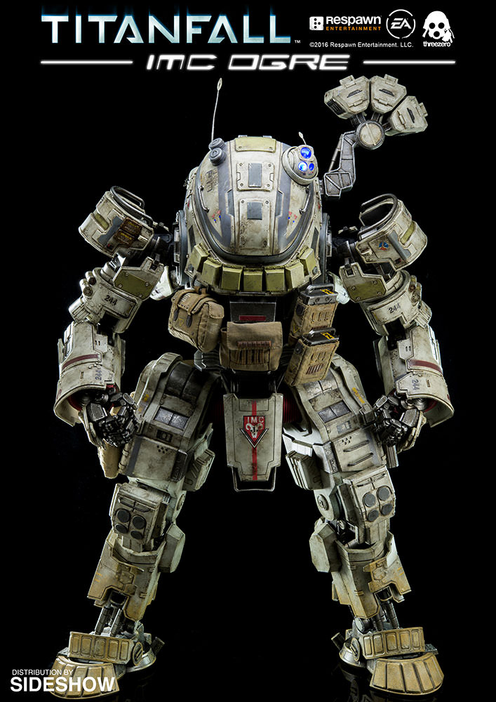 threezero titanfall imc ogre action figure mightymega