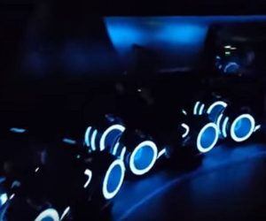 First Look: New TRON Roller Coaster at Shanghai Disneyland