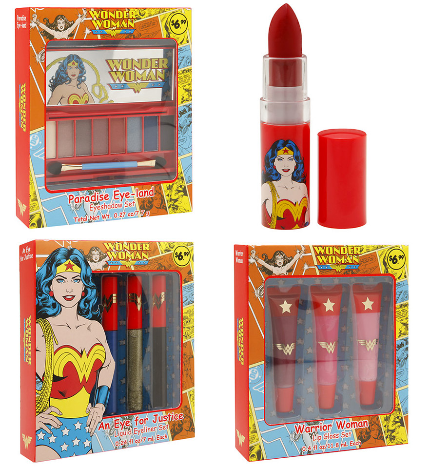 The Wonder Woman Beauty Collection