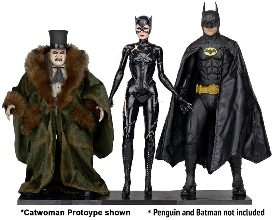NECA Batman Returns Catwoman 1/4 Scale Action Figure