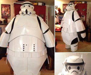 Baymax Stormtrooper Costume