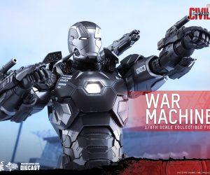 Hot Toys Civil War War Machine Mk. III 1/6 Die-cast Action Figure