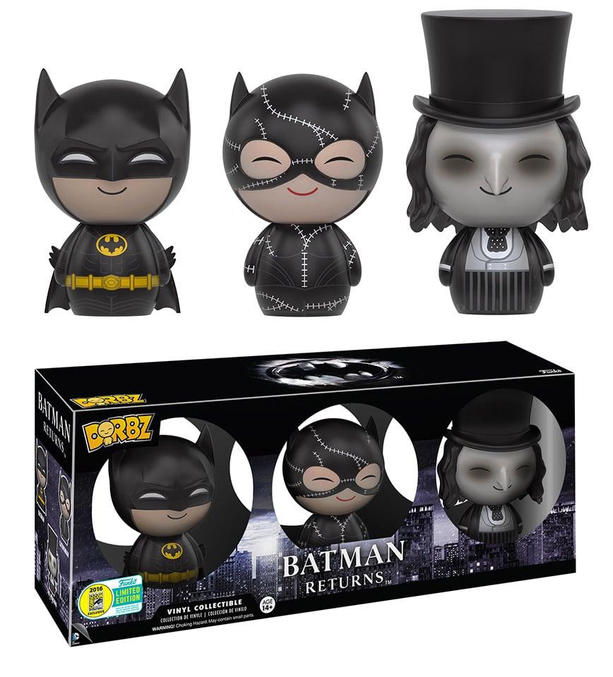 Dorbz Batman Returns 3-Pack: 2016 SDCC Exclusive