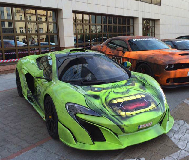Hulk-Themed McLaren 675LT: A Big Green Machine