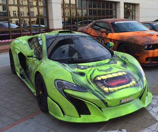 Hulk-Themed McLaren 675LT: A Big Green Machine