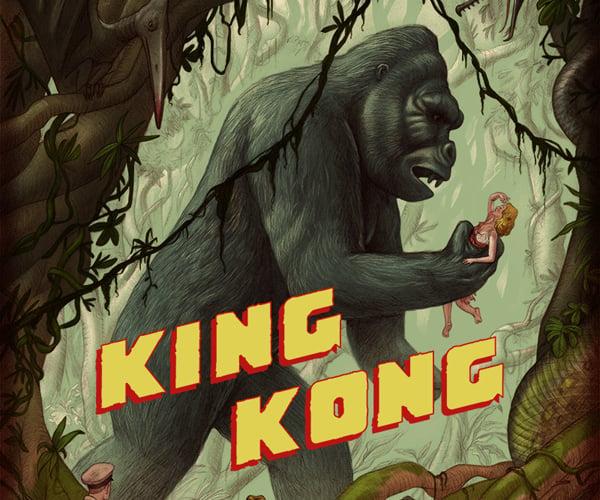 Mondo King Kong 1933 Movie Posters