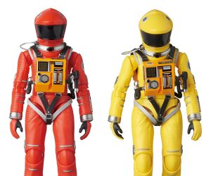 Medicom MAFEX 2001: A Space Odyssey Red & Yellow Spacesuits