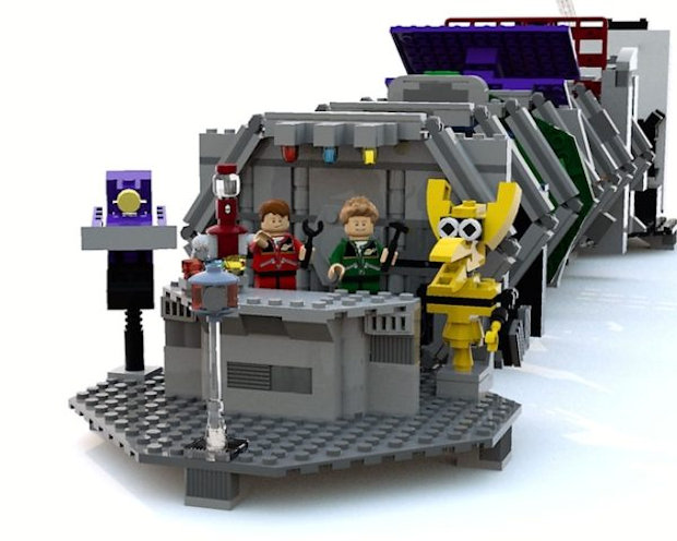 Robot Roll Call: MST3K LEGO Set