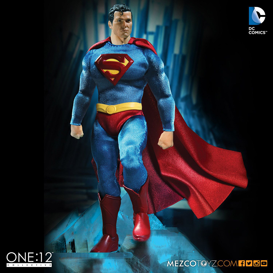 Mezco Toyz One:12 Collective Classic Superman Action Figure