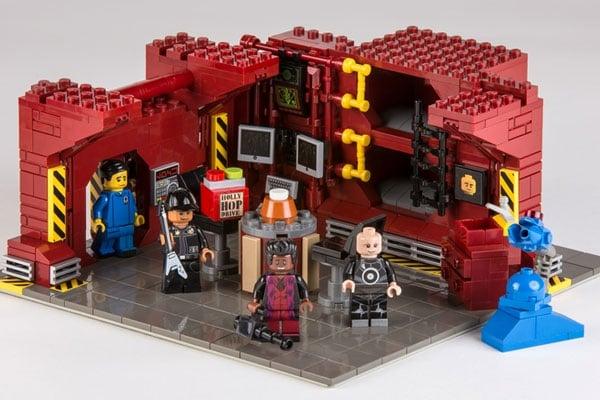 Red Dwarf LEGO Set