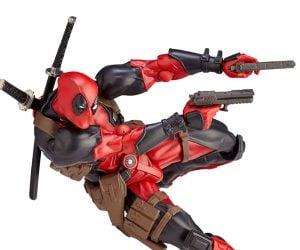 Kaiyodo Revoltech Deadpool 1/12 Scale Action Figure