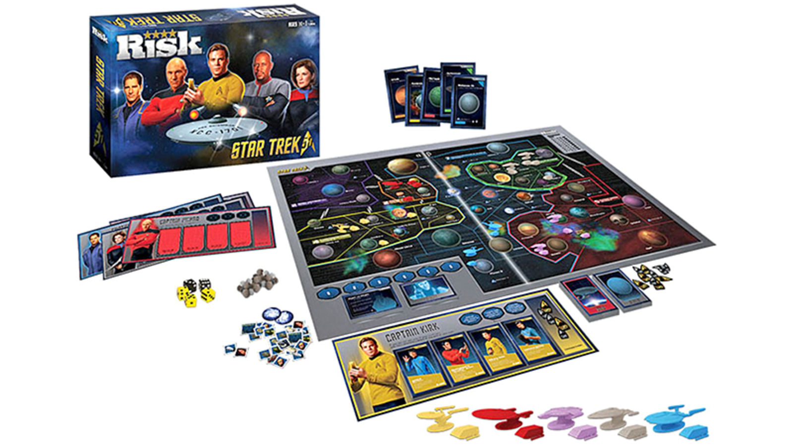 Star Trek Risk: Captain vs. Captain