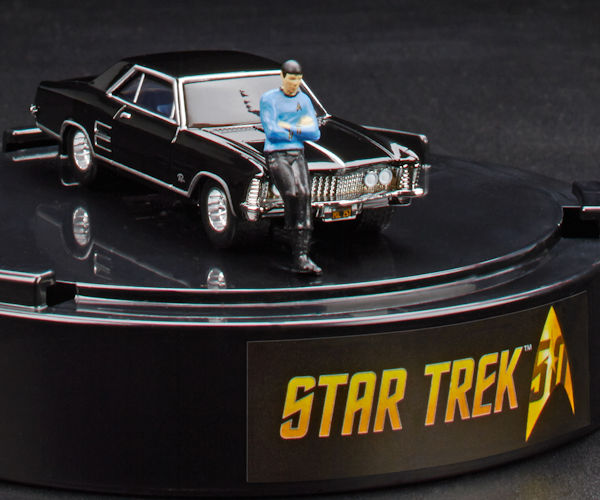 Spock and 1964 Buick Riviera Hot Wheels Car