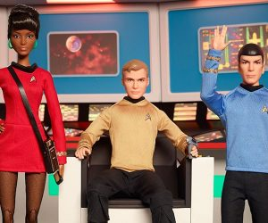 Star Trek 50th Anniversary Barbie Dolls