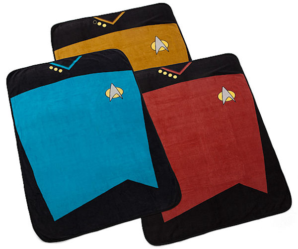 Star Trek TNG Fleece Blankets