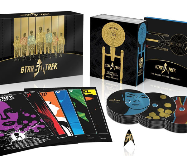 Star Trek 50th Anniversary Blu-ray Box Set Looks Amazing