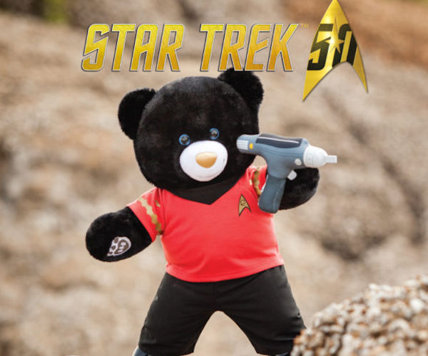 Build-A-Bear's Star Trek 50th Anniversary Collection