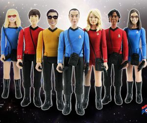 Bif Bang Pow Star Trek x Big Bang Theory SDCC Exclusive Action Figures