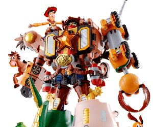Bandai Toy Story Woody Robo Sheriff Star