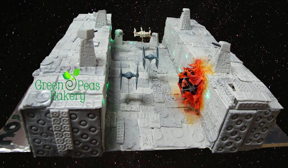 Star Wars Trench Run Birthday Cake