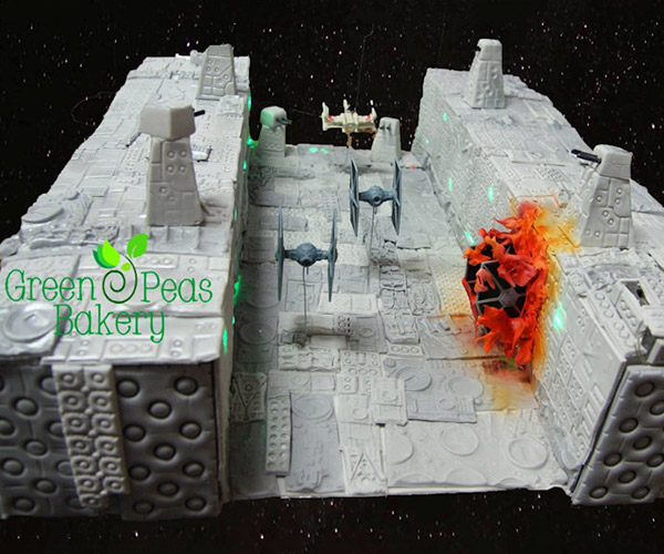 Star Wars Trench Run Birthday Cake