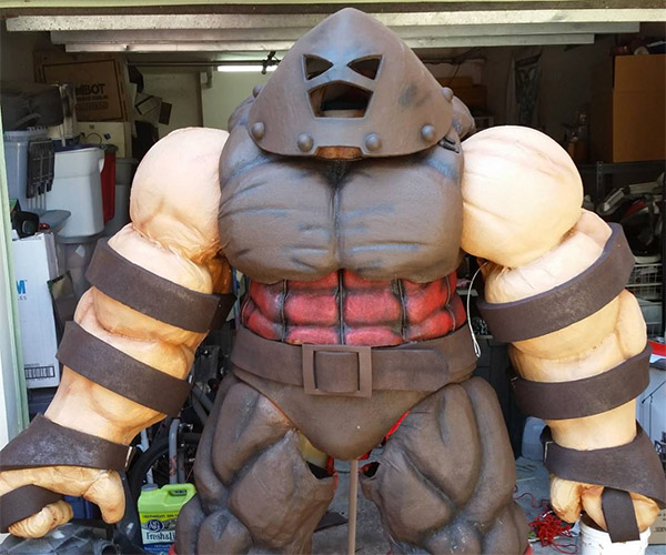 Guy Builds 7-Foot-Tall Juggernaut Suit, Is Now Unstoppable