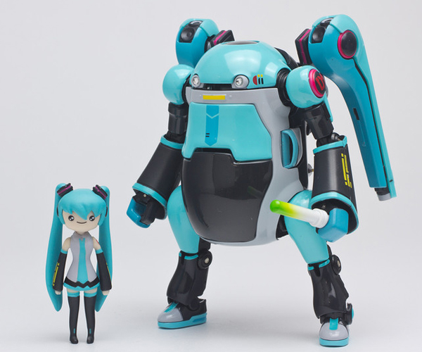 35MechatroWeGo and Hatsune Miku Action Figure