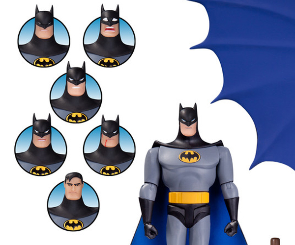 DC Collectibles Batman: The Animated Series Batman Expression Pack