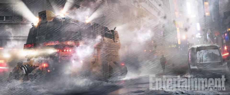 Blade Runner 2 Concept Art Revealed