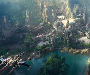 New Preview of Disney's Star Wars Land Looks Awesome
