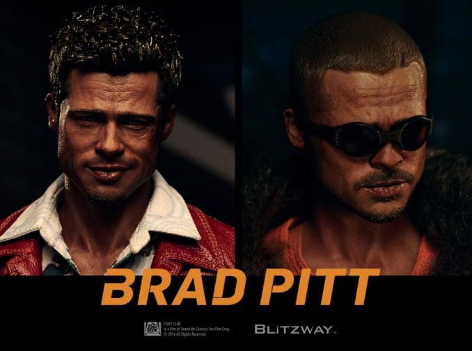 Blitzway Fight Club Tyler Durden 1/6 Scale Action Figures
