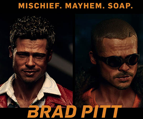 Blitzway Fight Club Tyler Durden 1/6 Scale Action Figures