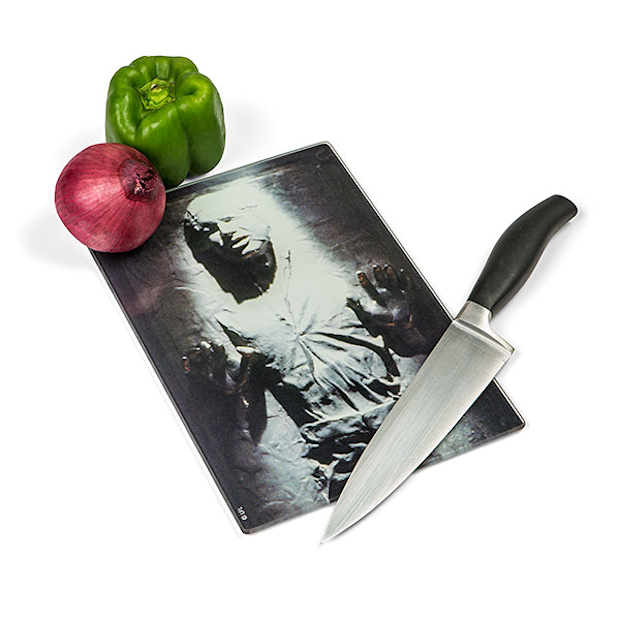 Han Solo in Carbonite Cutting Board