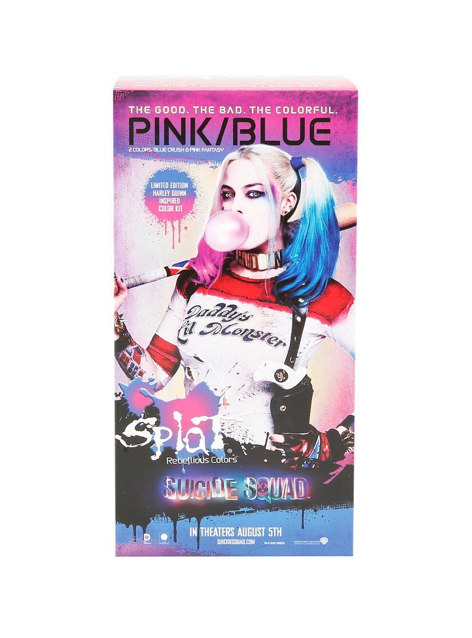 Harley Quinn Suicide Squad Hair Dye Kit