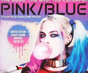 Harley Quinn Suicide Squad Hair Dye Kit