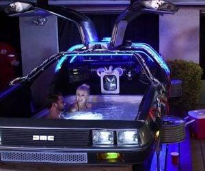 The DeLorean Hot Tub Time Machine