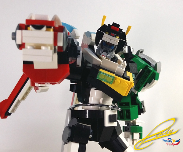 LEGO Voltron: Legendary Defender Robot and Bust Concepts